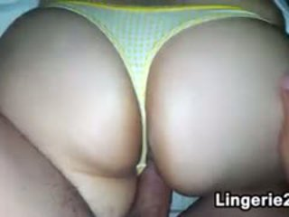 Lazy Girlfriend Wearing A Thong POV