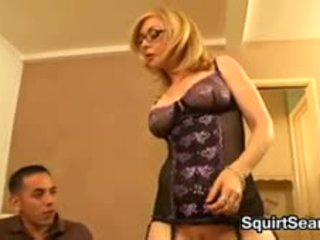 Mature Blonde Squirter Wants A Young Guy