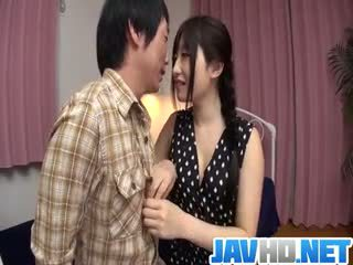 Cock Sucking Arisa Nakano Gets Busy With A Tasty Dong