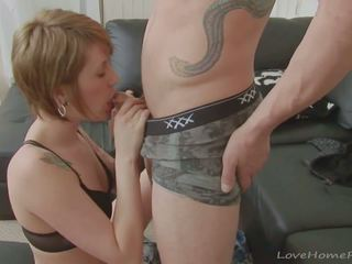 Amazing Babe with Short Hair Loves His Pecker: Free Porn 49