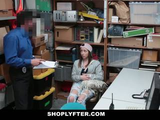 Shoplyfter - Devious Teen Fucks her way Out of trouble