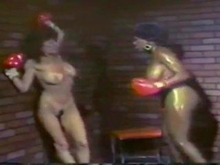 mooi wijnoogst, alle lesbisch tube, interraciale scène