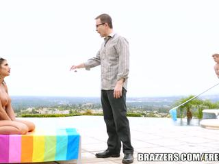 Brazzers - august ames gets pounded