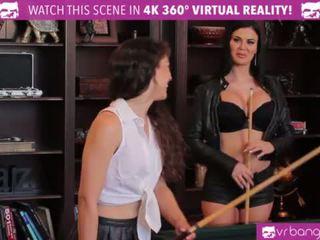 VR Bangers - British MILF Jasmine Jae has LESBIAN SEX with a Perky Teen