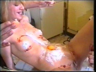 Heet randy chick krijgen dildo en lul neuken anaal en dekhengst getting boned door domina