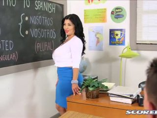 That Busty Lusty Spanish Teacher