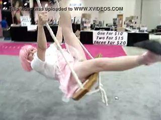 Exxotica Adult Expo New Jersey -No Panties Zoe Zane