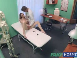 Fakehospital Hot Czech Patient Craves Hard Cock in Her Soaking Wet Pussy Video