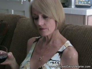 Steg momen sucks off henne son