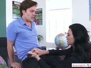 Student Has Sex With Hot Teacher w Jasmine Jae
