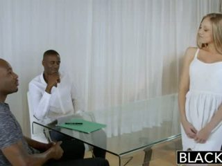 "BLACKED Blonde Personal Assistant Shawna Lenee Loves Black Men <span class=""duration"">- 12 min</span>"