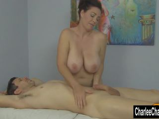 MILF Charlee Chase is a Happy Ending Masseuse: Free Porn be