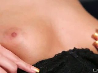 Samantha Jolie finger fucks on the stair
