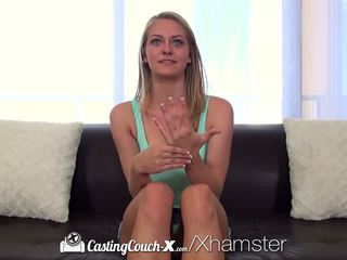 Castingcouch-x - Amateur Alli Rae Begs for a Messy.