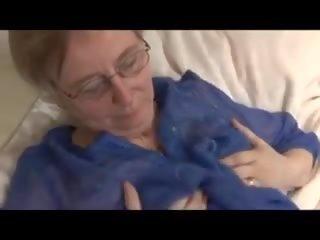Granny Masturbates: Saggy Tits Porn Video 47