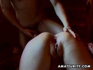 pijpbeurt, geschoren seks, vol vriendin mov
