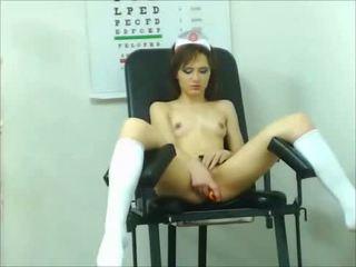 brunette, toys, webcams
