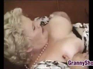 stora bröst, bbw, granny