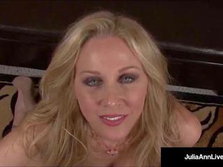Mega nezbedný máma jsem rád šoustat julia ann talks špinavý & hluboký throats
