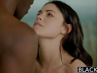 brunette, zien interraciale neuken, lingerie neuken