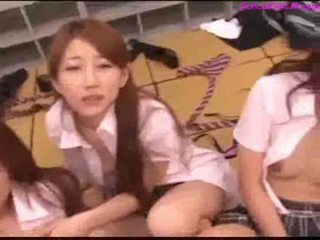นักเรียน, หนุ่ม, ญี่ปุ่น, สาว