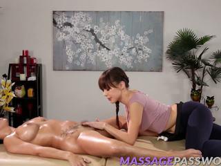 lesben hq, ideal brünetten spaß, massage schön