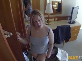 realiteit klem, kwaliteit sucking cock film, controleren mollig