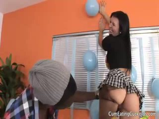 Ashli Orion Gets Her Hubby Dick Her His Birthday
