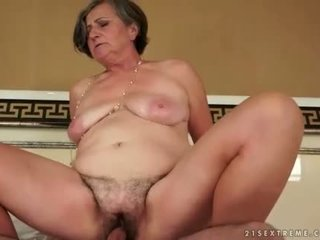 Chubby Grandmas vs Young Cocks