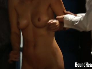 Branding Lesbian Girl Butts One by One, Porn 4b