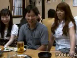 nice japanese all, nice blowjob, check public
