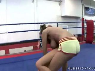 Wrestling match between Madison Parker and Janelle