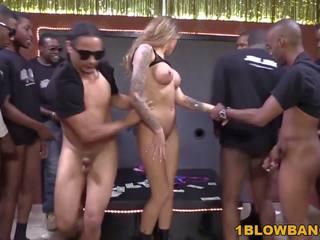 Juelz Ventura BBC Gangbang, Free Interracial Blowbang HD Porn