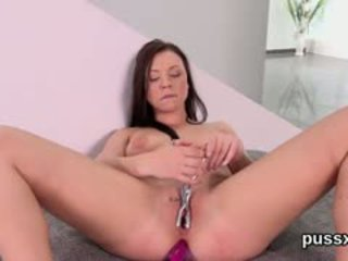 ideaal brunette neuken, online speelgoed, solo porno