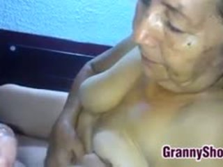 bestemor, blowjob, latin, pov