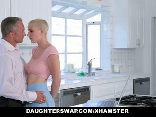 Daughterswap - Goth Cutie Fucked by Older Guys: HD Porn 01