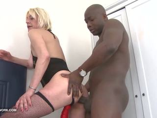 My Mom Anal Fucked by Black Cock Fucking Cumshot in Ass