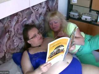 lezzy, fun lezzies tube, hot granny