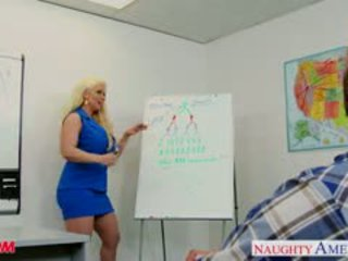 Blond mutter alura jenson fick ein groß shaft