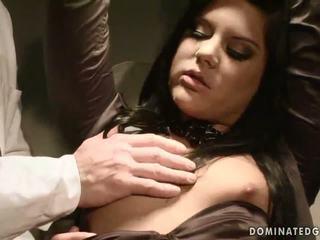 Madison Parker gets bondaged and anal fucked