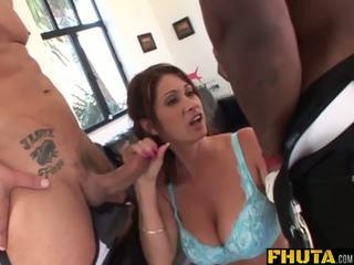 Fhuta - MILF Slut Loves to get Both Holes Stretched.