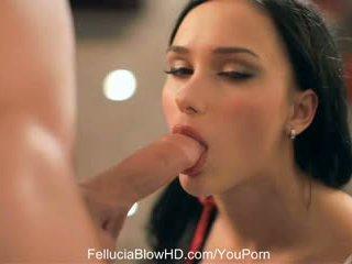 Buhok na kulay kape nobya makes oral love