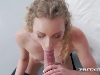 Private Com - Lingerie Angel Emily Squirts While Ass...