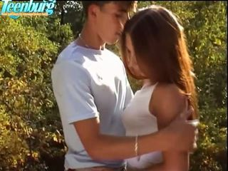 outdoor sex, blowjob, babe