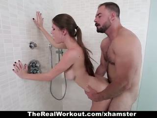 TheRealWorkout - Busty Teen Gets Fucked After Workout