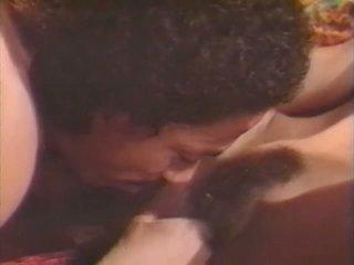 milfs seks, wijnoogst video-, meer zwart en ebony klem