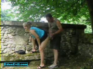 I Fuck My Shameless Wife In The Park