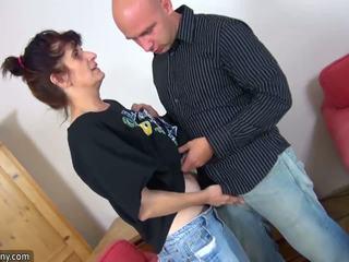 Oldnanny matura bunicuta enjoying proaspăt meat: gratis hd porno 84