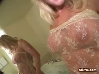 Excited Milf Drilled By 2 Jocks