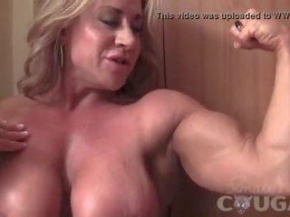ideaal vibrator, spieren film, u masturbatie